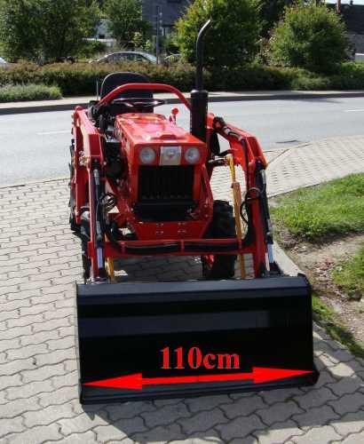 traktor schlepper allrad kubota b7001 frontlader komplett. Black Bedroom Furniture Sets. Home Design Ideas