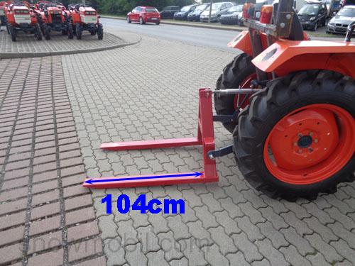 pallet fork Lift100 500kg fork carriage for Kubota, Iseki