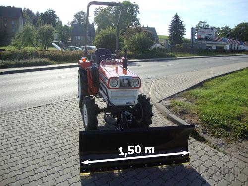 traktor schlepper kubota l1802 bulldog allrad gebr hydraulischem schneeschild ebay. Black Bedroom Furniture Sets. Home Design Ideas