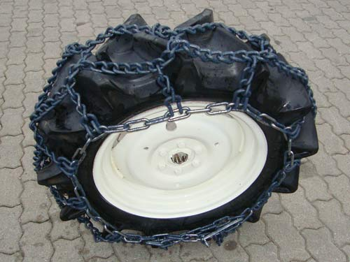 ringschneeketten 11 2 24 8 mm schneeketten kleintraktor traktor schlepper ebay. Black Bedroom Furniture Sets. Home Design Ideas