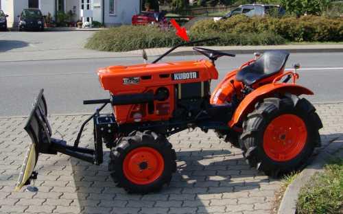 Berühmt Schneeschild Schneeräumschild 140cm für Kleintraktor Traktor @BK_88