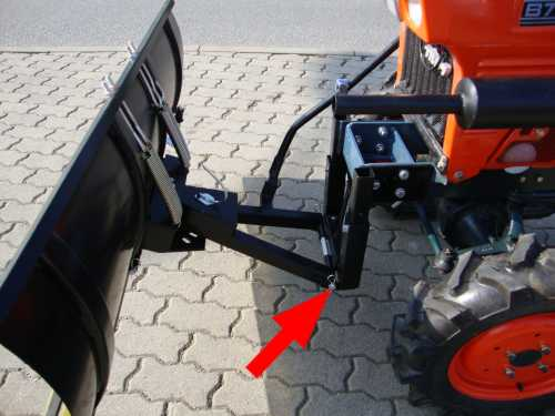 snow plow 140cm for small tractors motorger te fritzsch gmbh. Black Bedroom Furniture Sets. Home Design Ideas