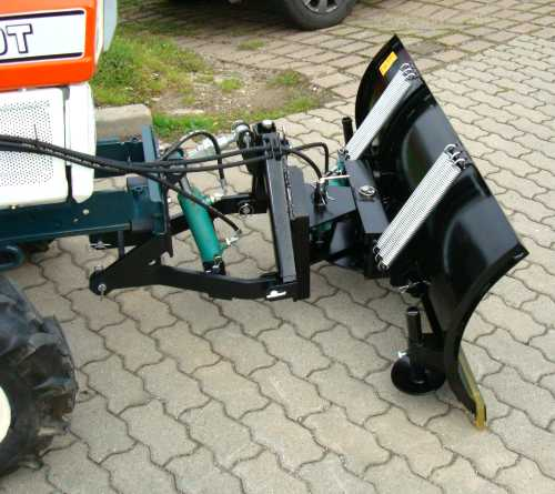 profi schneeschild 130cm 1 30m hydraulisch kleintraktor. Black Bedroom Furniture Sets. Home Design Ideas
