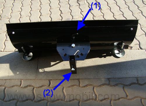 universal schneeschild 100cm f r balkenm her einachser usw motorger te fritzsch gmbh. Black Bedroom Furniture Sets. Home Design Ideas