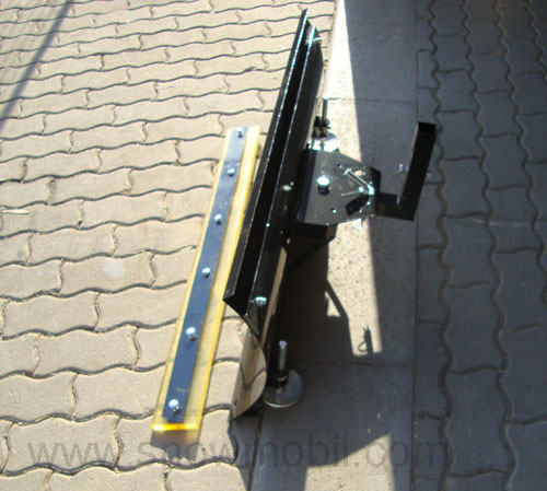 Universal-snow plow 100cm for walk-behind/two wheel tractor and