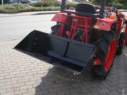 kippmulde tm140hs 1 40m schneeschaufel heckbox f r traktor. Black Bedroom Furniture Sets. Home Design Ideas